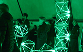 Olafur Eliasson's 'Green Light' responds to the refugee crisis in Europe