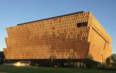 "Oliver Wainwright finds the National Museum of African American History ""embodies its complexities and contradictions"""