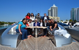 Cruise Ship and Super Yacht Program Welcomes Italian Naval Architecture Students to Miami