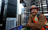The daring men building LA's New Wilshire Grand tower