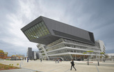 Another big concrete panel falls off Zaha Hadid-designed library
