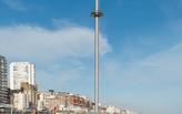 "A ""great throbbing shaft"": Oliver Wainwright on Brighton's British Airways i360 tower"