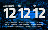 Archinect's 12 Top 12 for '12