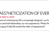"The Guggenheim online panel discussion, ""The Aestheticization of Everyday Life"""