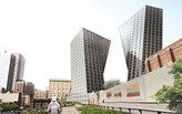 Updated renderings revealed for Bjarke Ingels' High Line twin(ish) towers