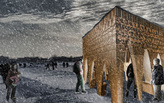 """Stalactite"" by APTUM Architecture - Warming Huts v. 2014 competition entry"
