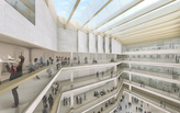 "Coop Himmelb(l)au compares campus redesign of the University of Applied Arts Vienna to a ""prison courtyard"""