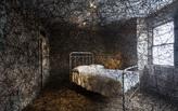 Weaving cobwebs of memory into an abandoned house