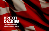 Brexit Diaries: Chris Williamson, 23 November 2016