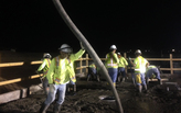 To pour concrete in mid-summer Phoenix, wait until the moon comes out