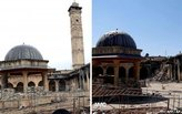 Aleppo landmark Mosque, a Unesco world heritage site, has been destroyed
