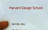 Harvard GSD M.Arch.I (Lian)