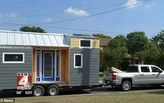 The problem with tiny homes - they can get stolen