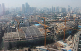Construction Update: Kohn Pedersen Fox's Riverside 66 in Tianjin, China