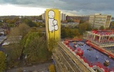 """Big Mother"" the tallest mural in the UK to highlight affordable housing issues"
