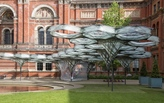 Fabricated robot installation at the V&A unveiled as part of their first Engineering Season