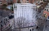 Ekklesia - cardboard pavilion for Fallas festival
