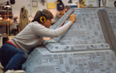 """Photo archive of """"Blade Runner"""" model shop shows remarkably convincing replicants hard at work"""