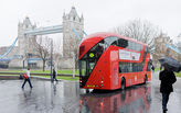 London to try out an all-electric double-decker bus