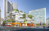 MVRDV approved to redesign the '70s Vandamme Nord block in Montparnasse, Paris
