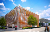 Shigeru Ban-designed Aspen Art Museum ready for grand opening next week