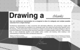 Master's Thesis: Drawing a ___(blank)___