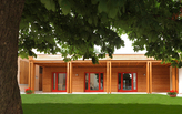 Timber costruction kindergarten in Treviso, Italy.
