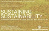 The Hans and Roger Strauch Symposium on Sustainable Design