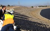 "Coating the LA reservoir in ""shade balls"" will save 300M gallons of water"