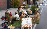 """11th annual """"Parking Day"""" transforms parking spaces into public spaces"""