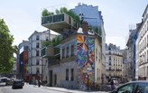 A Parisian architect's plan to solve housing shortages by adding pre-fab houses to existing structures