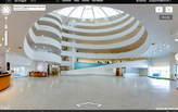 You can now explore the Guggenheim rotunda galleries online via Google Street View