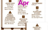 Woodbury School of Architecture: April 2012 Lectures and Events