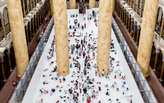 Snarkitecture's 10,000 sq ft indoor BEACH at the National Building Museum
