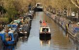 Overcrowding on London's canals