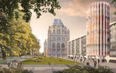 Five teams shortlisted for London's Natural History Museum Civic Realm competition