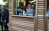 Design/Build at UMiami Completed - Coffee Kiosk