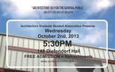 "Public ""Archiculture"" Screening Coming to B/a+p"