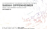 Sarah Oppenheimer at the Knowlton School