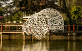 'Self-Ornamentalize' is a multidisciplinary installation