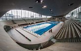 'It's like swimming in a spaceship': Zaha Hadid's Aquatics Centre opens to public