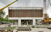 WAA progress construction on Campus Hoogvliet in Rotterdam