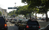 Rio's streets clog with traffic as visitors arrive for the Olympics