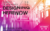 """Look forward to the future in the Core77 Conference 2015: """"DESIGNING HERE/NOW"""" this October"""