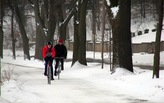 In spite of sleet and snow, cycling prevails in Minneapolis