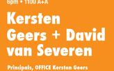 Kersten Geers + David van Severen, Spring 2012 Lecture Series