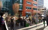 Downtown Portland says hello to new student-designed public parklet