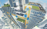 ThyssenKrupp premieres 1:3 scale model of its MULTI rope-less elevator system