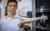 Scientists develop a flexible concrete that is stronger than traditional mixtures