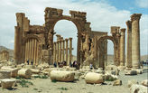 ISIS militants have reportedly blown up Palmyra's Arch of Triumph